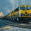 Alaska Railroad Freight Train (2)
