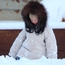 Concentrating in deep snow