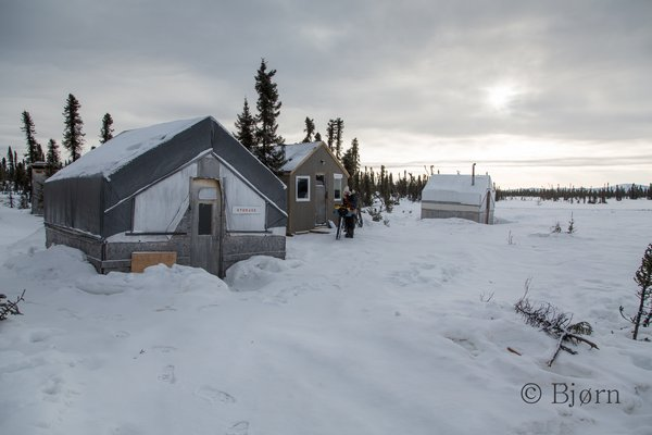 Between the Kuskokwim and Yukon Rivers is a vast wilderness with no year-round residents. There are however Iditarod checkpoints, like this one in Cripple.