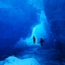 Exploring ice caves