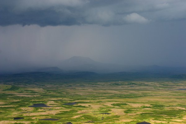 Thunderstrom approaching from Groundhog Mtn, within the Groundhog mining claims