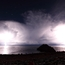 Lightning on Lake Titicaca