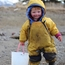 Lituya with the tidepooling bucket