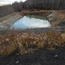 Mine-water settling pond