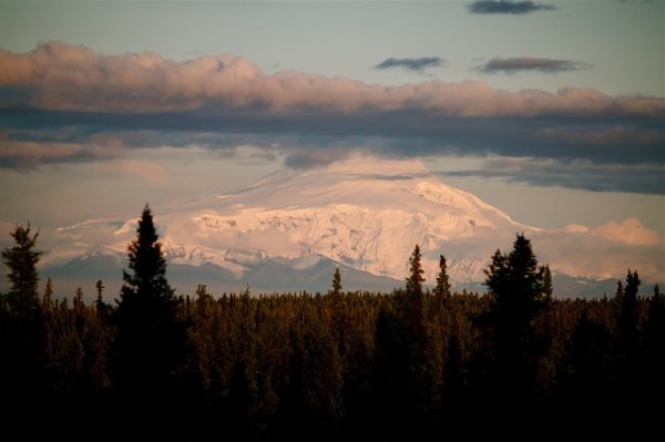 At 16,237 feet, Mount Sanford in the Wrangell Mountains is the third highest volcano in the U.S.