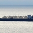 Natural gas tanker in Cook Inlet