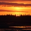 Sunset on the Susitna Flats