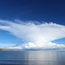 Thunderhead over Lake Titicaca