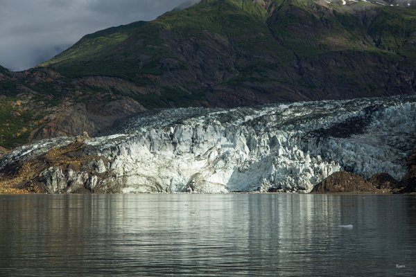 In October 2015, a massive landslide slid into Taan Fjord and created a tsunami in excess of 600 feet. Much of the landslide material was deposited on the Tyndall Glacier and into the fjord.