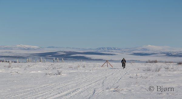 The Seward Peninsula is a wild and remote place to ride a fat-bike.
